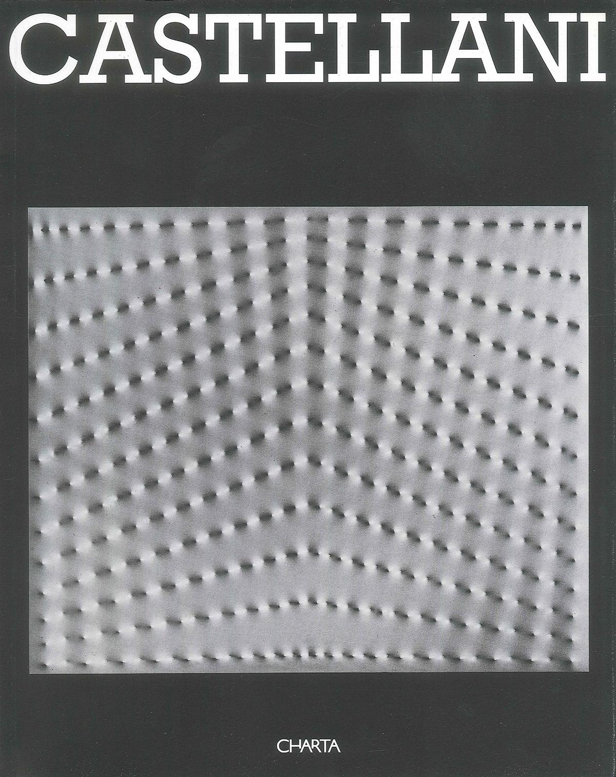 Cover - Castellani, Bruno Corà, 1996, Palazzo Fabroni, Charta Edizioni, Pistoia, Charta Edizioni