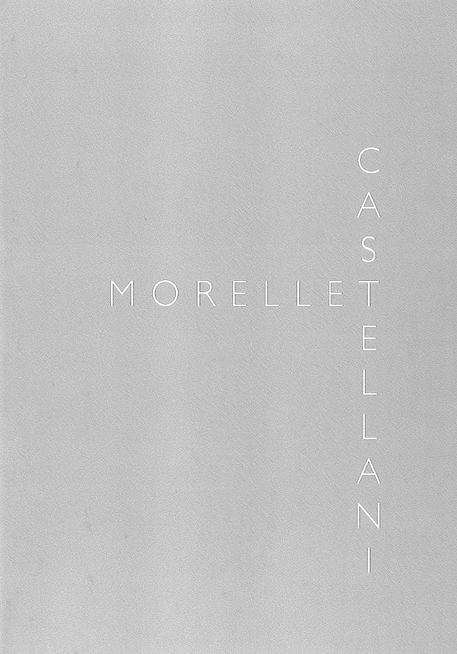Cover - Castellani, Morellet, Francesca Pola, Federico Sardella, 2009, A Arte Invernizzi Seragiotto, Padova