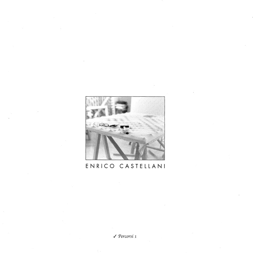 Cover - Enrico Castellani, Sabina Scapin, Marcello Carriero, 2006, Studio Fontaine, Viterbo